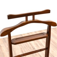 Cherry Butler's Valet Coat Rack | Loveseat Vintage ...
