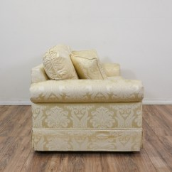 Damask Sofa Bed Ikea Futons And Beds Quotkrause 39s Quot Cream Floral Loveseat