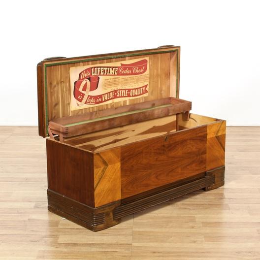 Montgomery Ward Amp Co Cedar Chest Loveseat Vintage