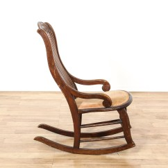 Rocking Chair Cane For Lower Back Pain Loveseat Vintage Furniture San