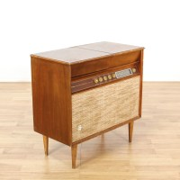 """""""Silvertone"""" Mid Century Stereo Turn Table Cabinet ..."""