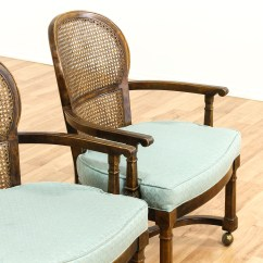1930 Cane Back Sofa Duck Egg Blue And Brown Sofas Set Of 4 Rolling Dining Chairs Loveseat