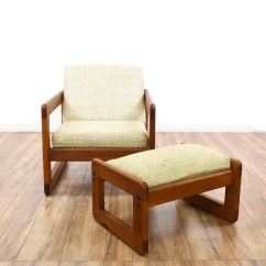 Wood Frame Accent Chairs Race Car Chair Square And Ottoman Loveseat