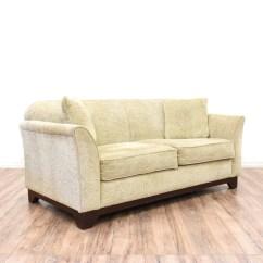 Sofa Sleeper San Francisco Loose Linen Slipcover Loveseat Bed Vintage Furniture