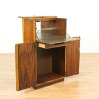 """Lane"" Mid Century Modern Bar Cabinet | Loveseat Vintage ..."