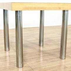 Chrome Kitchen Table Cabinets Riverside Ca Leg Dinette Loveseat Vintage Furniture San