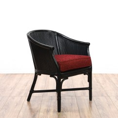 Black Sofa With Accent Chairs Best Way To Clean Rattan Chair Loveseat Vintage Furniture San