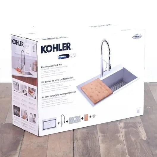 kohler pro inspired kitchen sink kit loveseat com los angeles