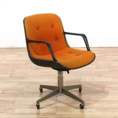 Steelcase Vintage Chair Recliner Chairs Big Lots Pollock By W Orange Upholstery Loveseat