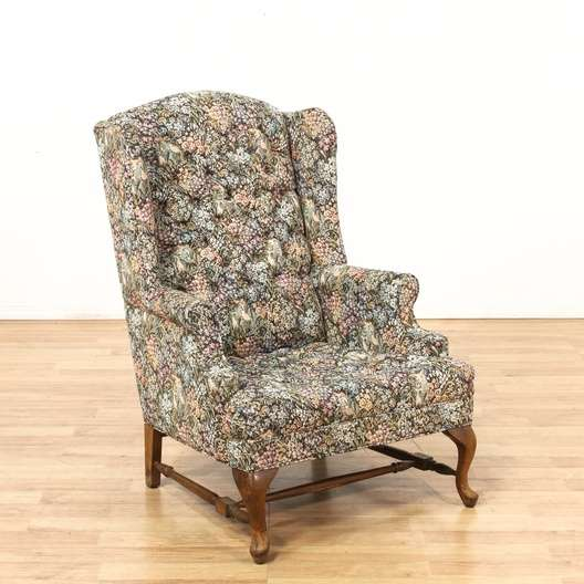 Cottage Chic Floral Upholstered Armchair 1 Loveseat