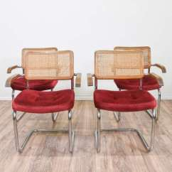 Marcel Breuer Cesca Chair With Armrests Step Two Table And Chairs Set Of 4 Style Loveseat Vintage