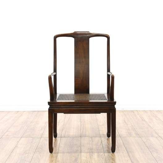 henredon asian dining chairs black papasan chair frame set of 5 cane seat loveseat vintage next