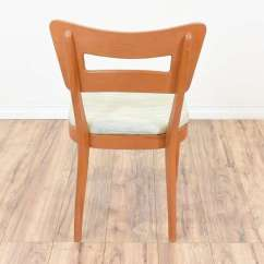 Heywood Wakefield Dogbone Chairs Ergonomic Chair Olx Set Of 4 Loveseat Vintage 1