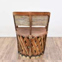 Mexican Equipale Leather Chair | Loveseat Vintage ...