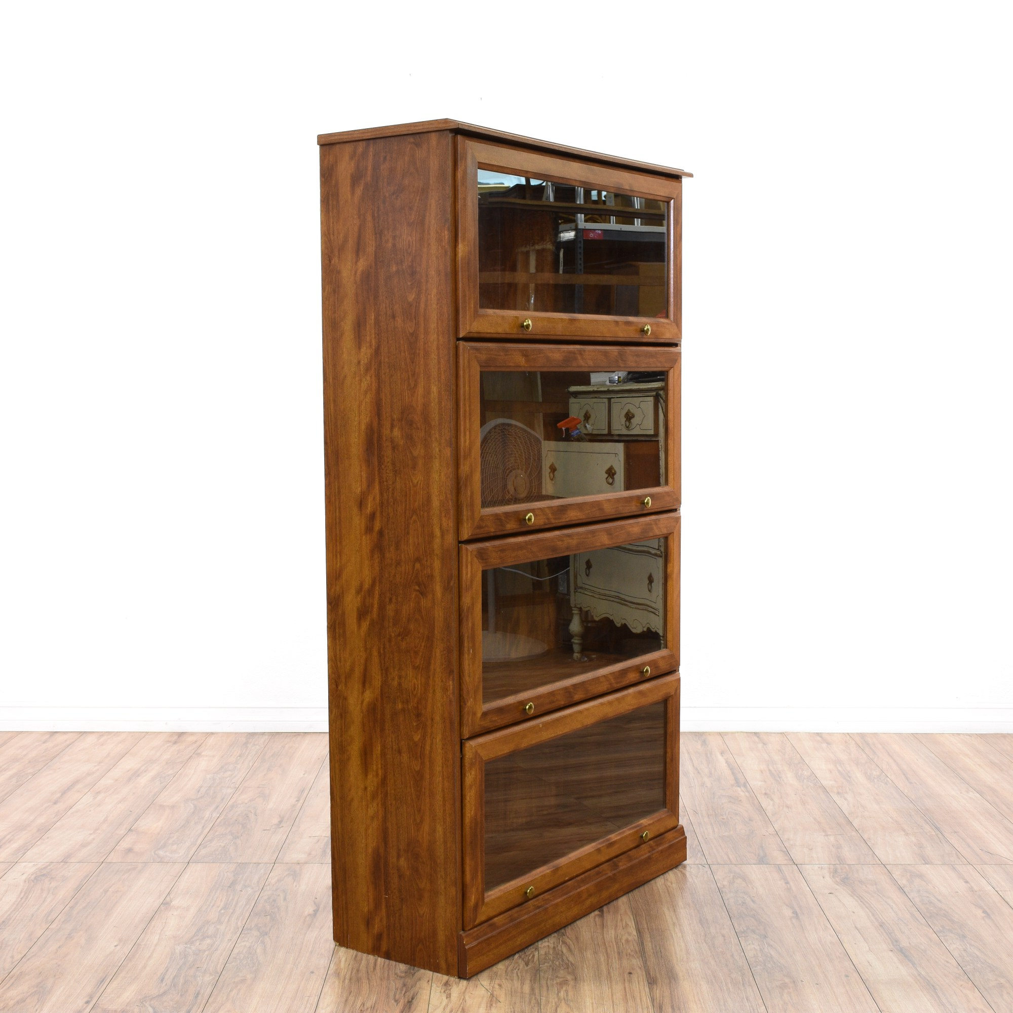 Glass Front Lawyers Bookcase