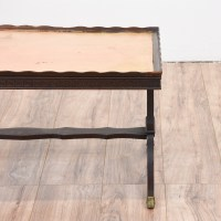Eclectic Wood Coffee Table | Loveseat Vintage Furniture ...