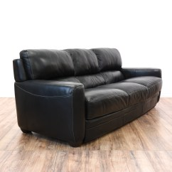 Sofitalia Leather Sofa Concrete Chesterfield Black Quotsofitalia Quot Cushion Loveseat Vintage