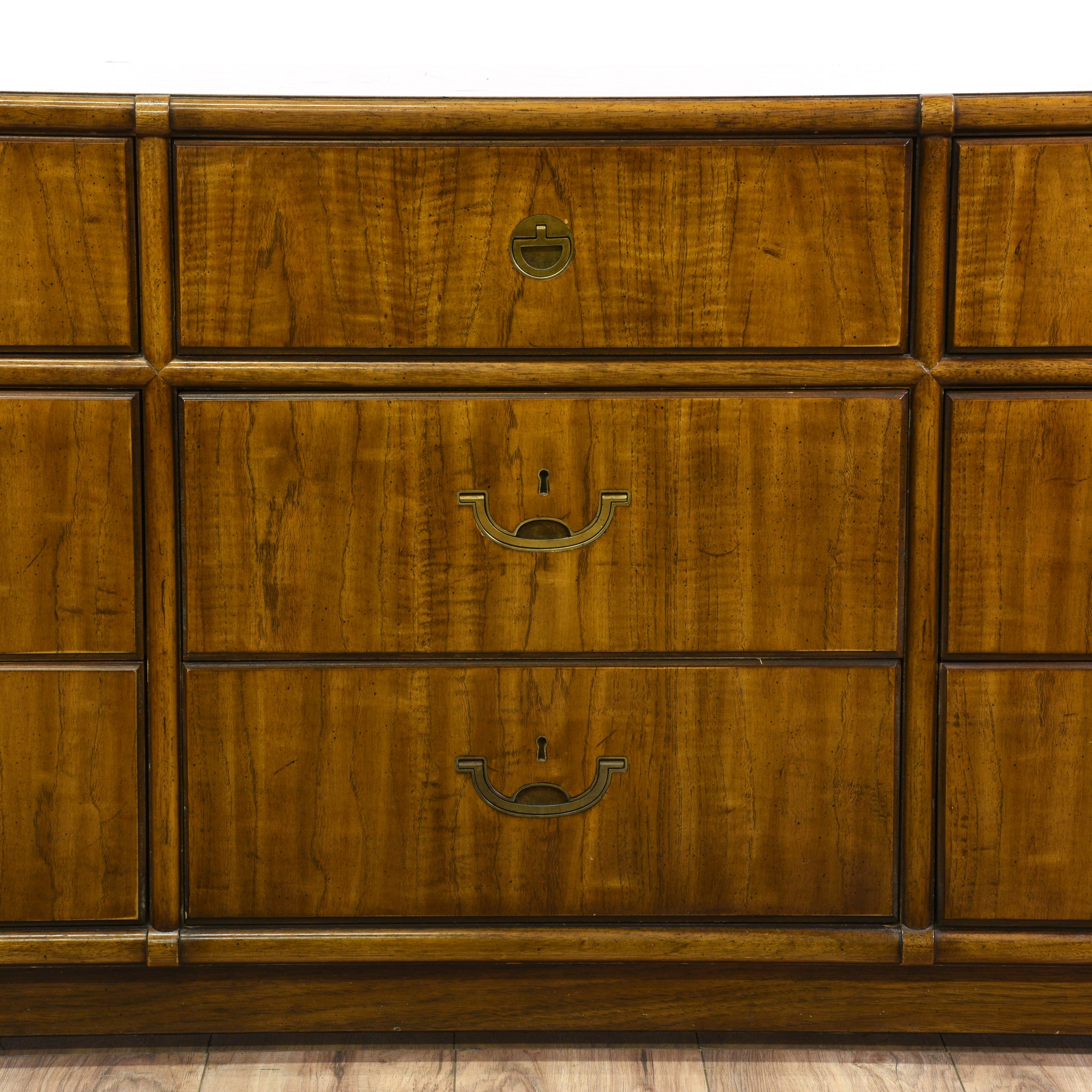 Campaign Style Dresser Drexel Heritage Accolade Ii - Year of Clean Water