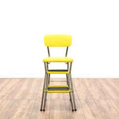 Old Fashioned Kitchen Chair Step Stool Aid Range Mid Century Modern Yellow Quotcosco Quot Loveseat
