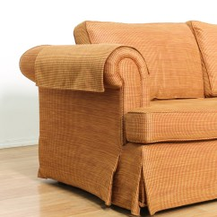 Burnt Orange Sofa And Loveseat Natuzzi Editions Sofas Woven Upholstered Vintage
