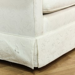 Damask Sofa Bed Parlor Cb2 White Loveseat Couch Vintage Furniture