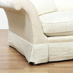 Damask Sofa Bed Macy S Sofas And Loveseats Quotbaker Quot White Brocade Loveseat 2