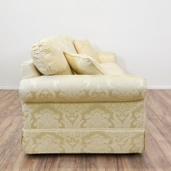 Damask Sofa Bed Red Leather Power Reclining Quotkrause 39s Quot Cream Floral Loveseat Vintage