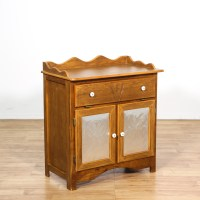 Tin Front Dry Sink Buffet Cabinet | Loveseat Vintage ...