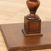 Round Pedestal End Table | Loveseat Vintage Furniture Los ...