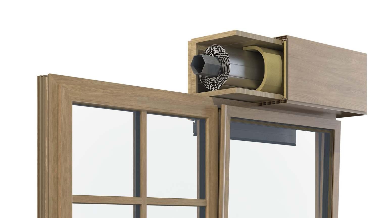 Kit cassonetti per tapparelle da 250cm; Rivestimento Cassonetto Avvolgibile Finstral Spa