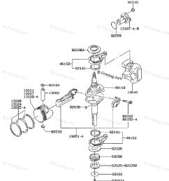 kawasaki 4 stroke engine fc420v oem parts diagram for piston crankshaft firedog com [ 917 x 1200 Pixel ]