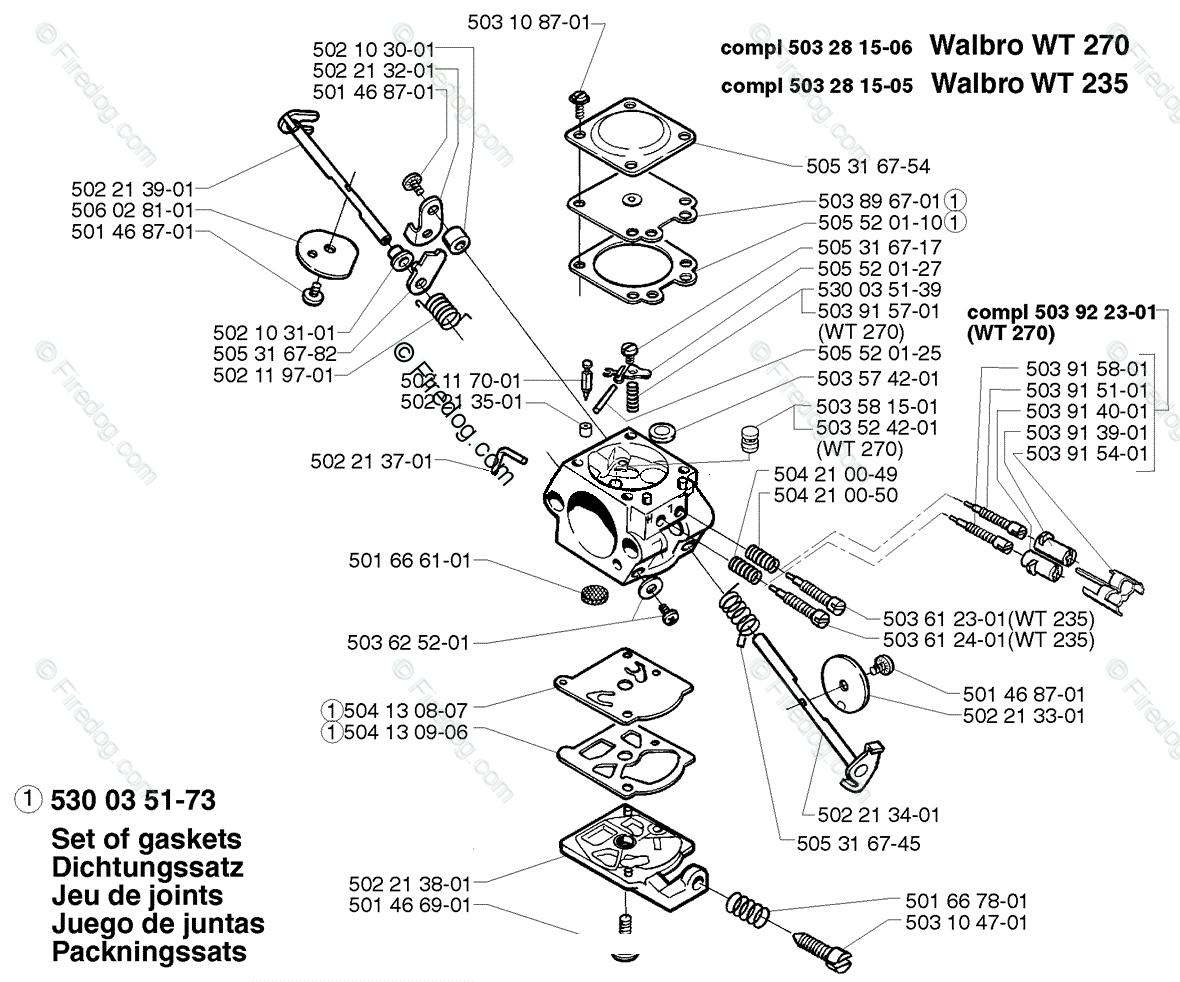 Husqvarna Line Trimmer 235 R (1998-01) OEM Parts Diagram