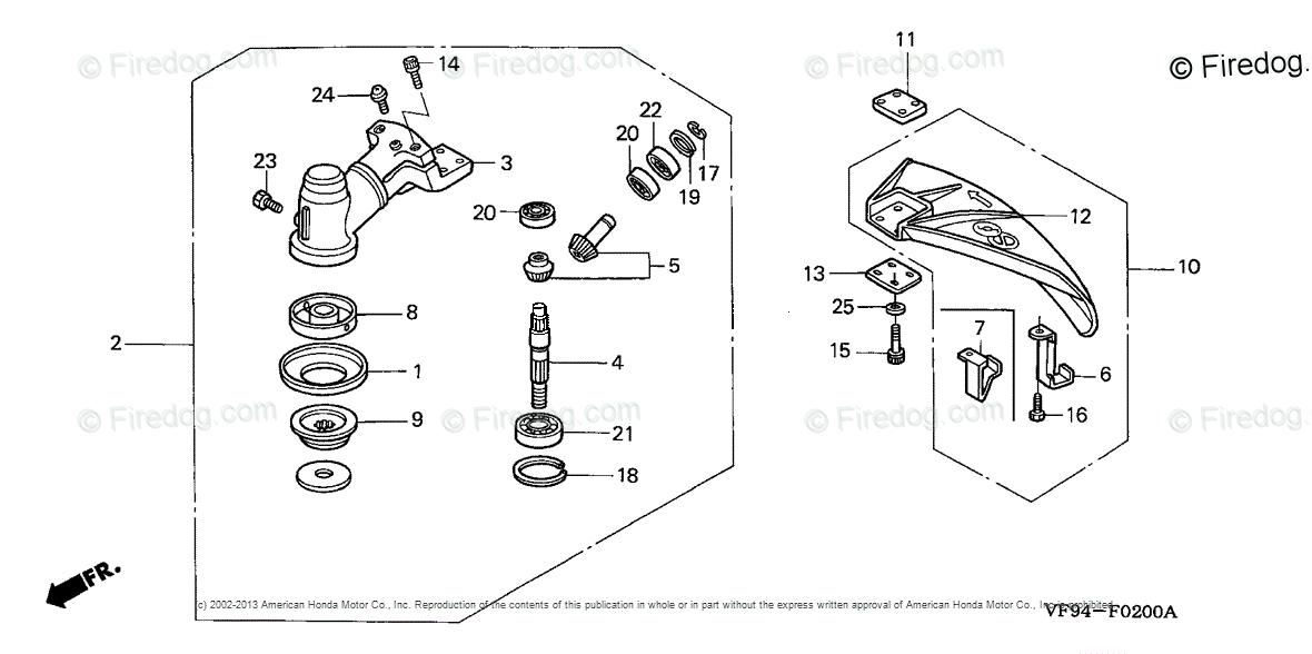 Honda Power Equipment Trimmer-Brush Cutter UMK422 LNA