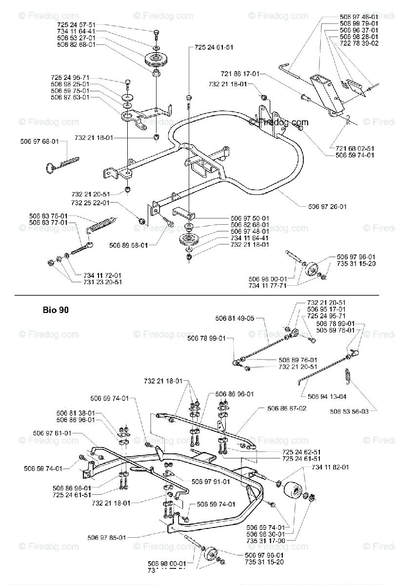 Husqvarna Ride Mower Rider Pro 15 (2001-02) OEM Parts