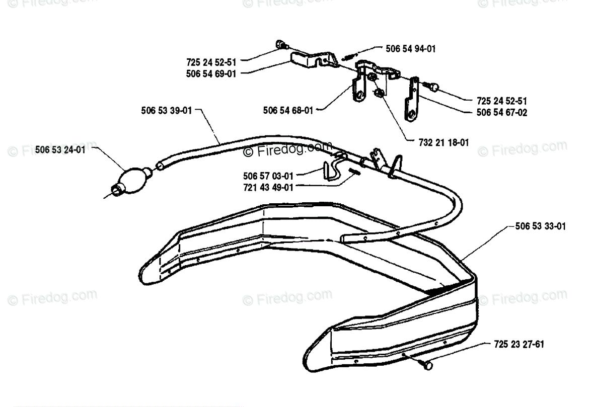 Husqvarna Ride Mower Rider 850 12 (1990-02) OEM Parts