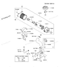 kawasaki 4 stroke engine fx801v oem parts diagram for air filter [ 917 x 1200 Pixel ]