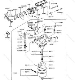 kawasaki 4 stroke engine fb460v oem parts diagram for carburetor firedog com [ 917 x 1200 Pixel ]