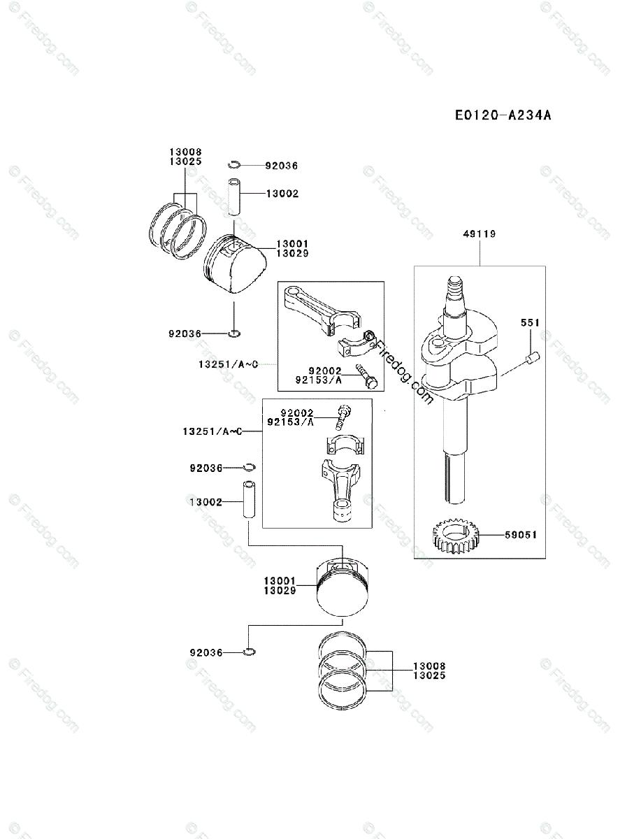 hight resolution of kawasaki 4 stroke engine fd590v oem parts diagram for piston fd590v kawasaki engine diagram
