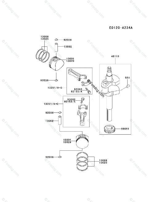 small resolution of kawasaki 4 stroke engine fd590v oem parts diagram for piston fd590v kawasaki engine diagram
