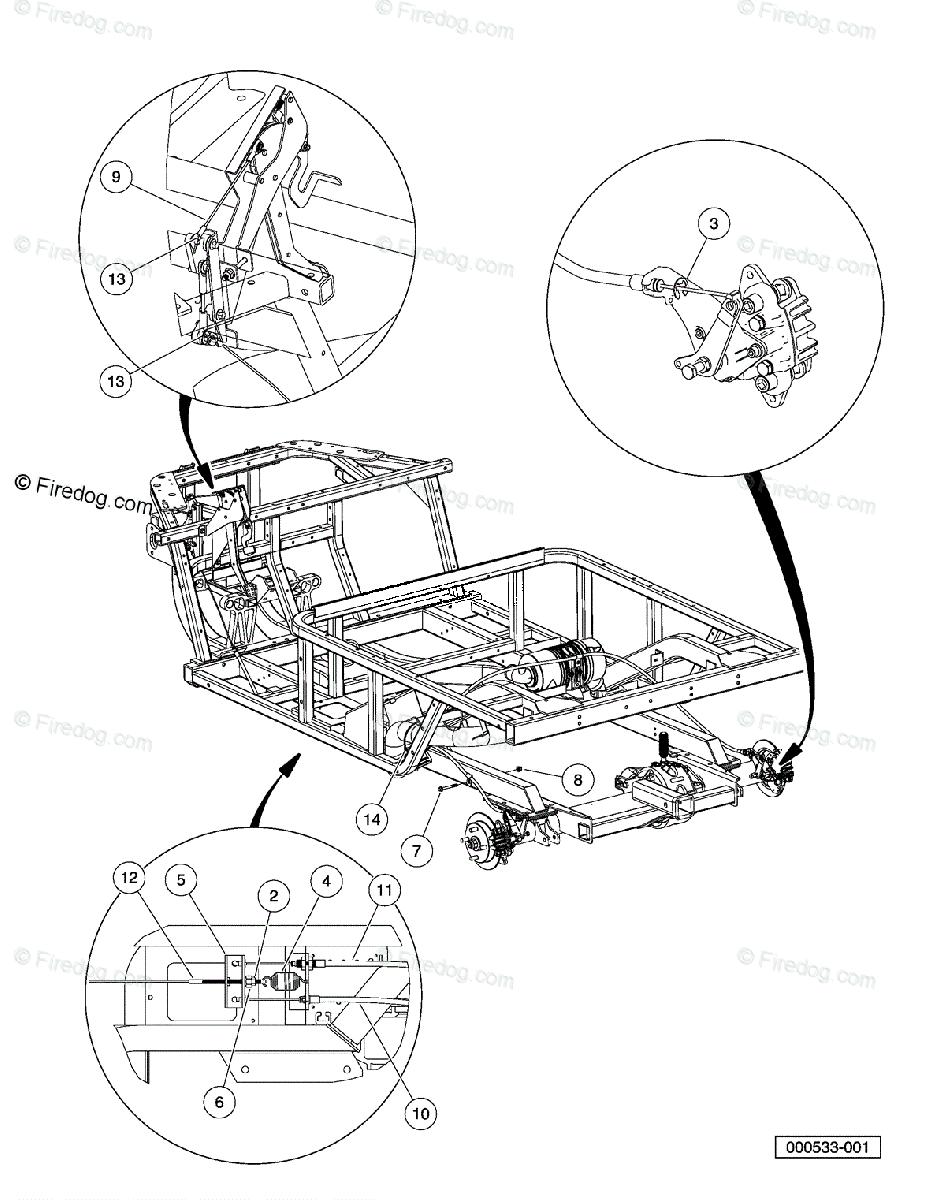Husqvarna Utility Vehicle HUV 4214 (2009-05) OEM Parts