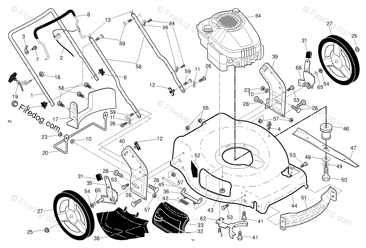 hight resolution of husqvarna lawn mowers consumer walk behinds lb 155s 96121002701 2014 09 oem parts diagram for engine firedog com