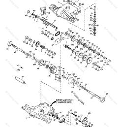 husqvarna engine transaxles tec 1997 04 oem parts diagram for peerless transaxle 820 016b 820 016c firedog com [ 982 x 1200 Pixel ]