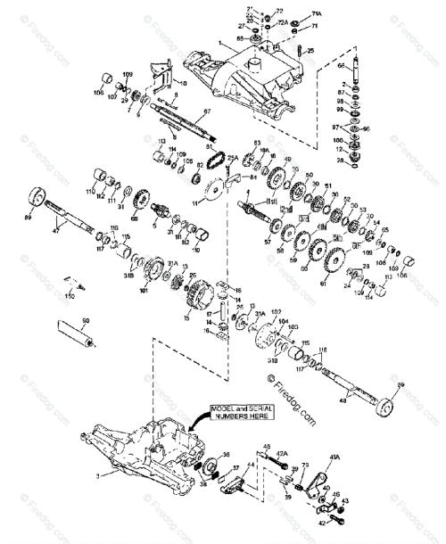 small resolution of husqvarna engine transaxles tec 1997 04 oem parts diagram for peerless transaxle 820 016b 820 016c firedog com