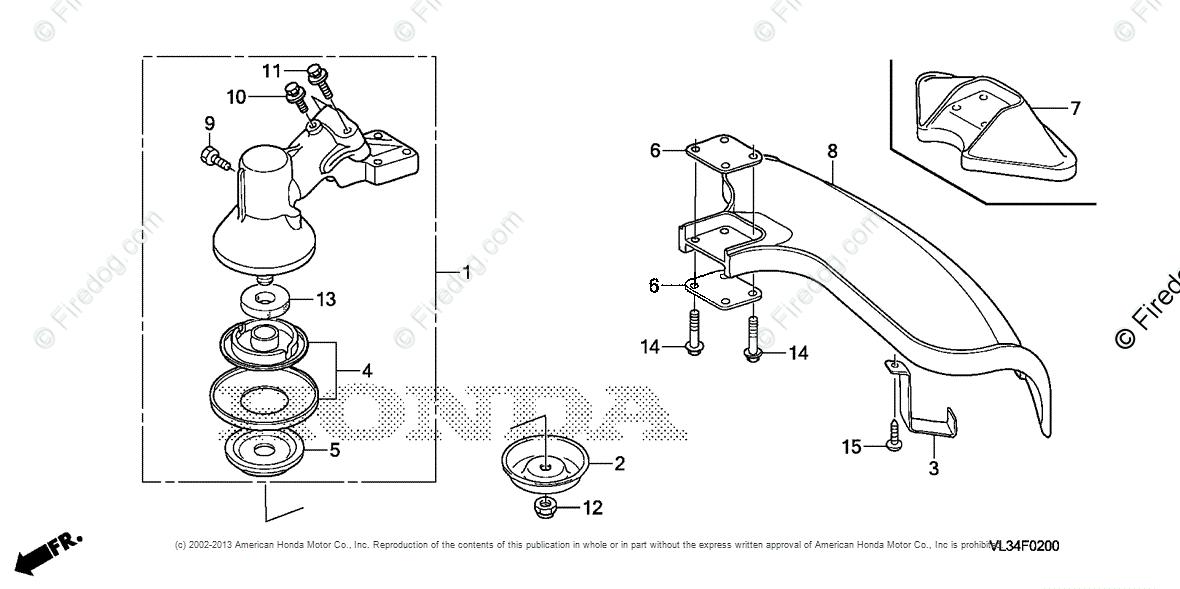 Honda Power Equipment Trimmer-Brush Cutter HHT35S UKAT