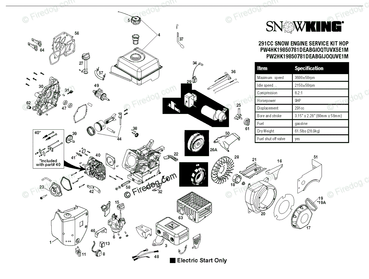 hight resolution of husqvarna snow blowers throwers 12527hv 96193007100 2011 06 oem parts diagram for engine firedog com