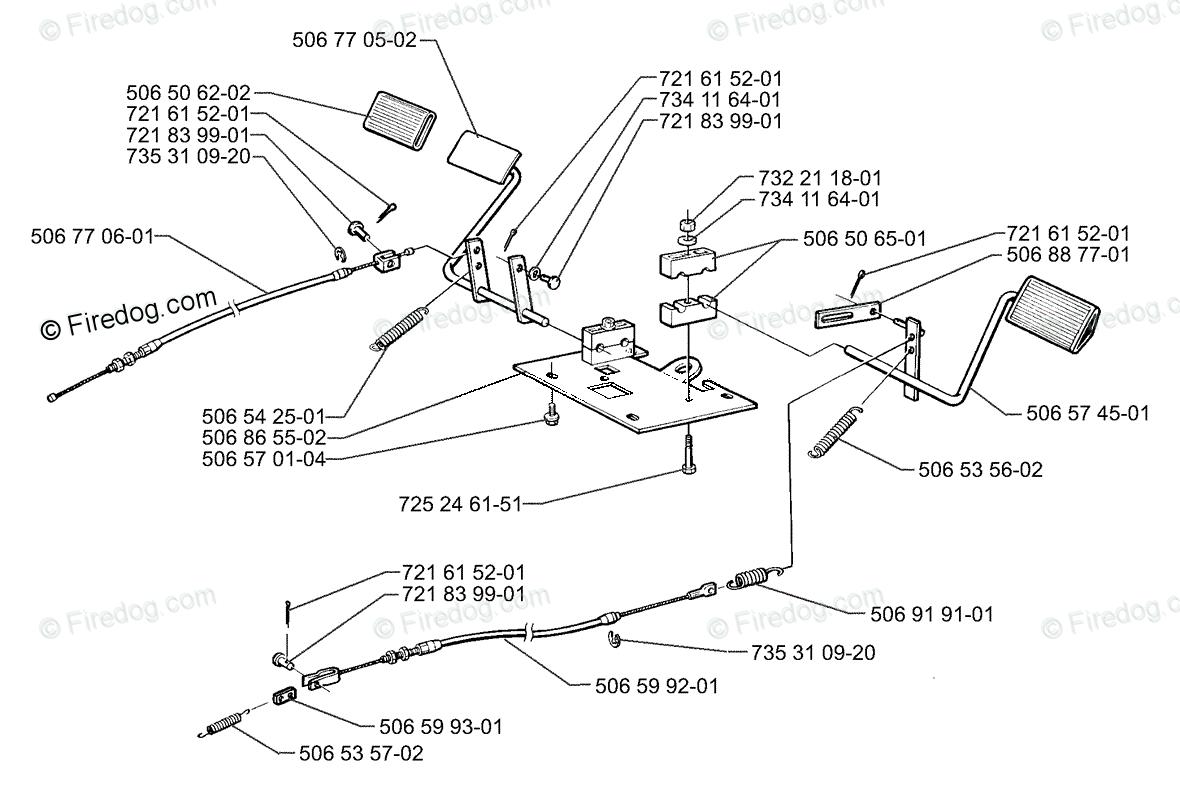 Husqvarna Lawn Mower Rider 970 04 Oem Parts Diagram