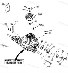 husqvarna ride mower yth 180 hcyth180c 954140010 1997 01 oem parts diagram for peerless transaxle model number 205 026b firedog com [ 1180 x 1083 Pixel ]