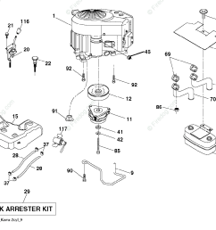 husqvarna tractors ride mowers gth26v52ls 96043011802 2011 06 oem parts diagram [ 1200 x 1015 Pixel ]