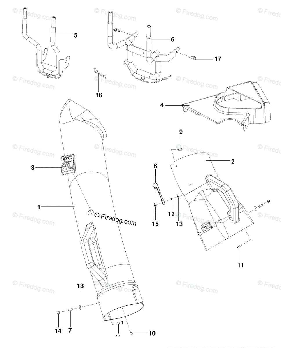 Husqvarna Accessory 48 Collection System (966529102) (2009