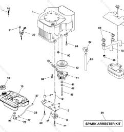 husqvarna ride mower gth 2548 b 954572004 2004 02 oem parts diagram for engine firedog com [ 1180 x 1117 Pixel ]